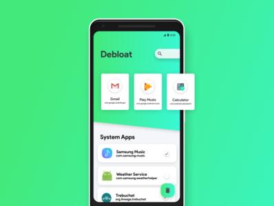 Debloat app