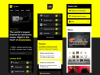 Amsterdam Dance Event - Mobile site