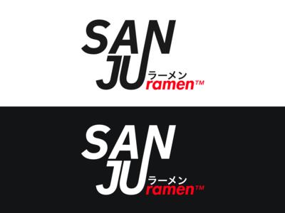 Sanju Ramen - Logo Design