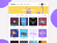 Floow - Sample packs page