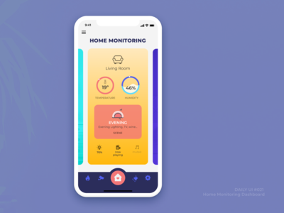 021  Home Monitoring Dashboard