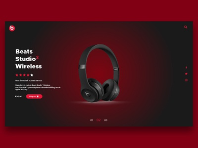 Web design Beats By Dre landing page design landing page ui  ux design ui  ux type icon web design website flat vector logo typography web ux ui illustration identity graphic design design branding