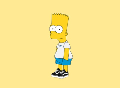The Simpsons: Bart Illustration