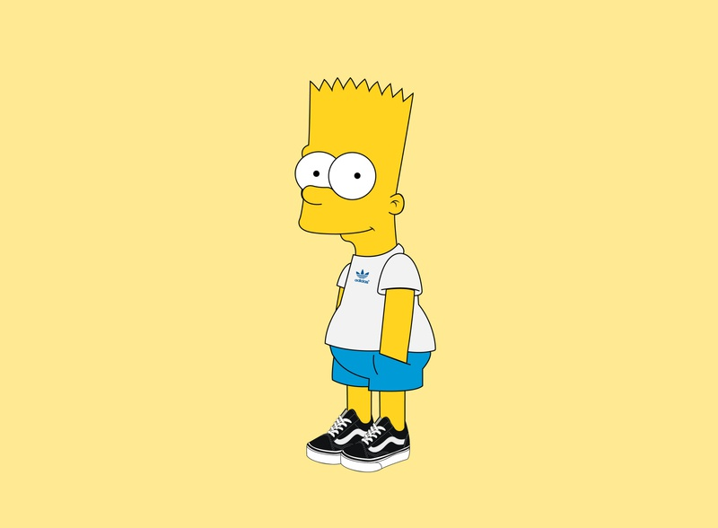 The Simpsons: Bart Illustration cartoon character cartoons print design poster prints print illustration art vector illustrations cartoon illustration character design character cartoon illustrator typography identity branding illustration graphic design design