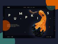 Dark Pumpkin Template