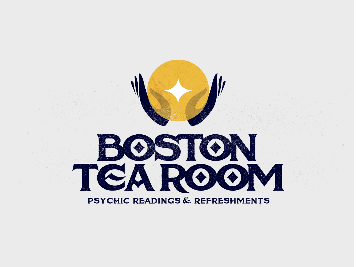 Boston Tea Room Logo by Jennifer Clotfelter on Dribbble