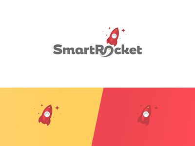 Smart Rocket mobile crowdsourcing app logo animated logo animation logo animation crowdsource app mobile app logo app logo visual  identity branding and identity logo deisgn logo