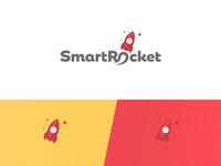 Smart rocket logo mobile crowd source app
