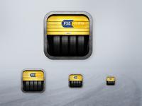 Seasonal tire change - booking app icon logo design illustration pwa icon launcher ico app ico application icon launcher icon app icon design app icon progressive web app pwa