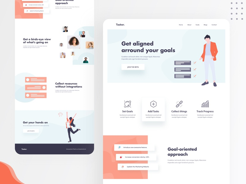Task - Landing Page Concept