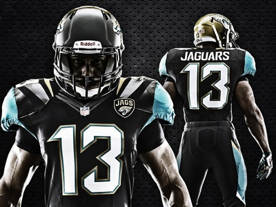 New Jaguars uniforms nfl jacksonville jaguars uniform football nike photo player athlete
