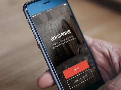 App: Bourbonr android ui iphone app