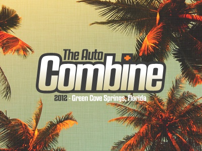 The Auto Combine logo auto combine cars car show automotive