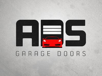 ADS Garage Doors logo garage door home house car auto
