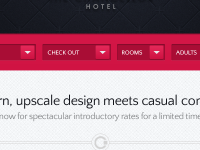 Hotel Reservations reservations hotel select dropdown menu date