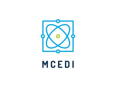MCEDI Branding identity center science education organization poster flyer branding logo