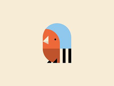 Chaffinch.ico flat icon chaffinch bird