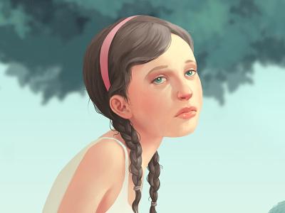 Beware symbolism surrealism women girls art artwork feminism digital painting photoshop 2d illustration