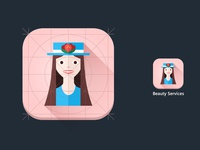 Beauty Services Icon