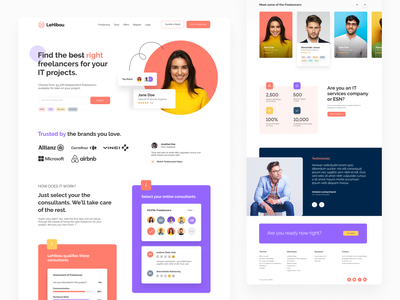Website: Landing Page for Lehibou french uiui design uxui design website design how it works steps webdesign web design landingpage owl freelancer landing page plogged