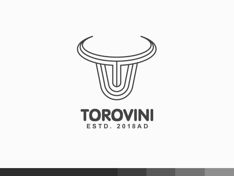 ToroVini africa wine cow bull toro plogged logo creative clever branding animal