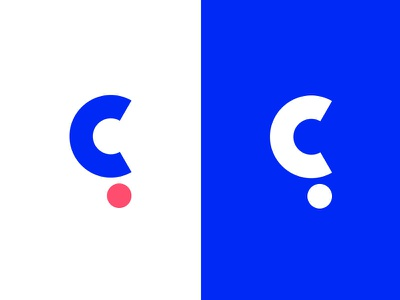 Cohesif Variations logotype plogged clever smart creative logo branding identity mark geometric social monogram symbol lettering typography consultancy law firm question mark c