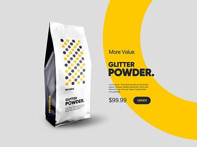 Levaka Packaging Design branding identity levaka ecommerce yellow dark blue plogged dots simple packaging product design