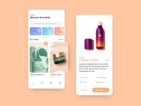 Beauty Store (UI Practice) beauty branding clean ui ui design ui