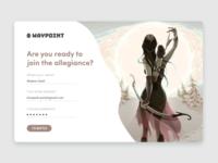 Waypoint - Sign Up UI