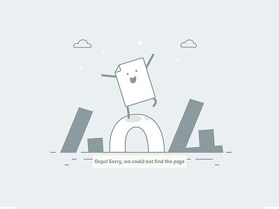 Error Page Illustration website landing page ui illustration