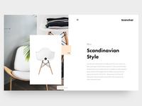 Clean Website Header