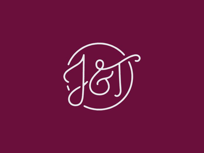 T And J Designs.J T Logo By Sidney Vlass Bernardo On Dribbble