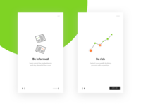 Splash Screen for Stock Market App
