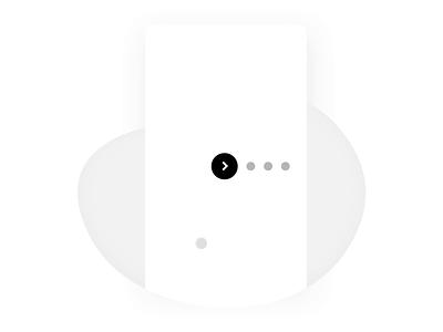 Next steps / Walkthrough micro animation progressive disclosure interactive simple minimal progress indicator progressive progress process cycle walkthrough steps next animation micro animation interaction design interaction micro interaction