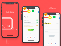 Education app /sign up screen/