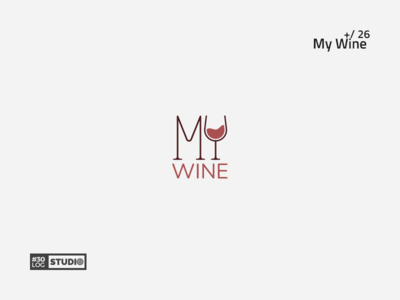 My Wine | ThirtyLogos#26