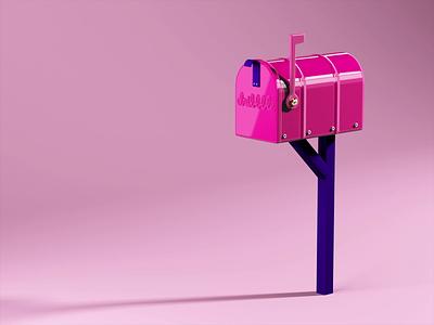 Outgoing Mail ✉️ dribbble dribbble invite c4d cinema4d physicalrender design animation mograph motion graphics 3d 3d art