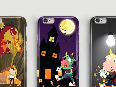 MooCash iPhone 6/6s Case moocash iphone 6 phone case graphic design illustration