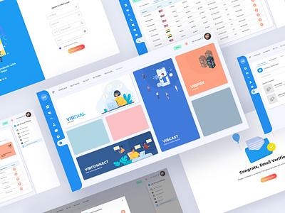 vibtree CRM Portal | Dashboard 🚀 crm portal dashboard admin dashboard admin