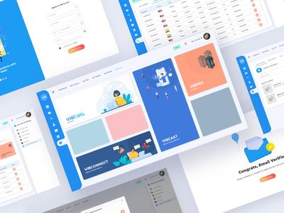 vibtree CRM Portal   Dashboard 🚀 crm portal dashboard admin dashboard admin