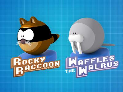 Rocky & Waffles