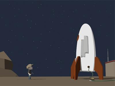 Gus Wallpaper spaceship wallpaper space flat rocket night gus