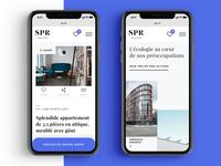 Real Estate Website #5 – Mobile exploration