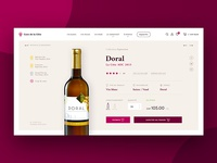 Wine distributor #3 – Product Page