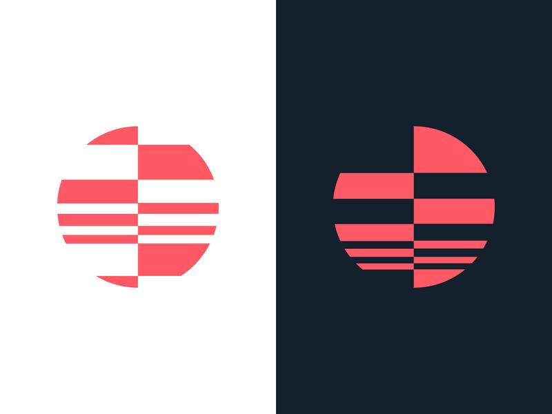 Logo exploration design branding abstract map digital minimalism modern logo search