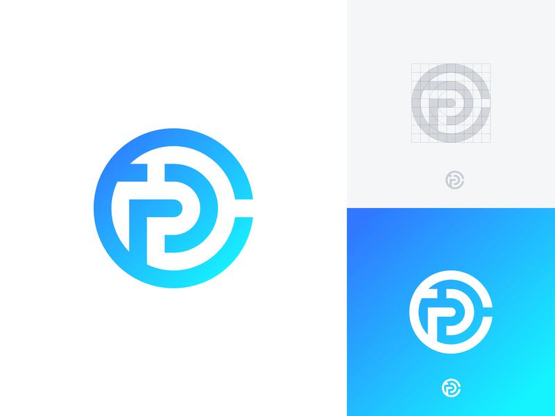 CCP logo exploration #2 exploration platform customer care customer ccp cc monogram geometic identity branding identity modern branding minimalism logo