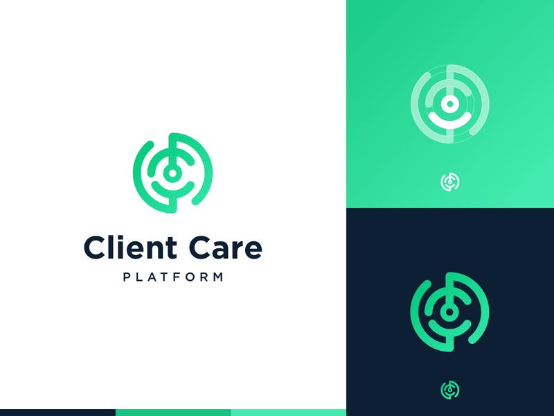 CCP logo exploration #3 user geometric brand exploration platform client customer care minimal cc ccp monogramm branding identity modern vector minimalism logo