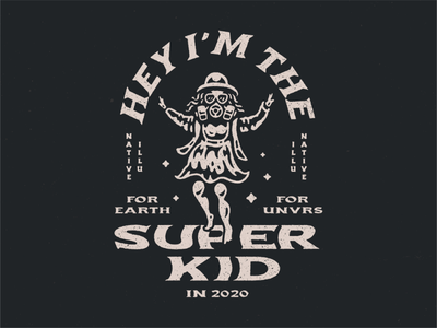 Hey I'm The Super Kid in 2020 illustration masker viruses slogan logo virus corona coronavirus