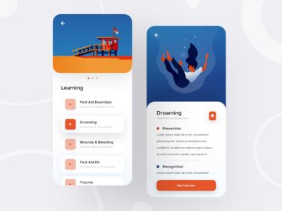 Emergency Education App