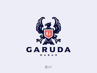 Heraldic Garuda Bird Logo